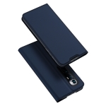For Xiaomi Mi 10 Ultra DUX DUCIS Skin Pro Series Horizontal Flip PU + TPU Leather Case with Holder & Card Slots(Blue)