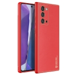For Samsung Galaxy Note20 DUX DUCIS YOLO Series PU + PC + TPU Protective Case(Red)