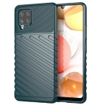 For Samsung Galaxy A42 5G Thunderbolt Shockproof TPU Soft Case(Green)