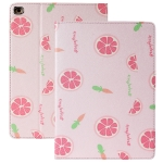 Anti-fall Horizontal Flip TPU Leather Case with Holder & Sleep / Wake-up Function For iPad Pro 10.5 inch / Air 3(Grapefruit)