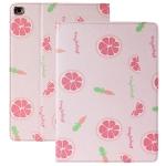 Anti-fall Horizontal Flip TPU Leather Case with Holder & Sleep / Wake-up Function For iPad mini 5 / 4(Grapefruit)
