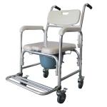 [US Warehouse] Multifunction Memory Foam Cushion U Shape Commode Chair Adult Bathroom Toilet Seat (Grey)