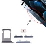 SIM Card Tray + Side Keys for iPhone 12 Pro (Blue)