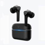 FLYDIGI T1 Bluetooth 5.0 Wireless Binaural Bluetooth Earphone TWS in-ear Game Music Sports Noise-canceling Headphones with Charging Box (Black)
