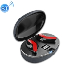 Vidson ES20 TWS 5.0 Wireless Two Ear Bluetooth Headset With 400mAh Charging Cabin & LED Power Display & HD Call