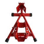 [US Warehouse] Steel Motorcycle Front / Rear Wheel Support Frame Stand for Most Motorcycles