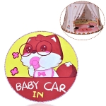 Children Cartoon Floor Mat Indoor Toy Tent Cotton Pad Crawling Mat, Diameter: 140cm,  Random Styles Delivery