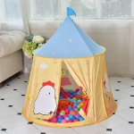 Chick Pattern Children Indoor Outdoor Tent Play House Ocean Balls Game Castle