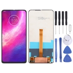 LCD Screen and Digitizer Full Assembly for Motorola One Hyper