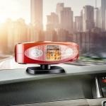Car Heater Defrosting & Defogging Electric Heater Multifunctional Lighting Appliances, Specification:12V