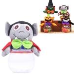 4 PCS Halloween Decorations Candy Jar Ghost Festival Atmosphere Arrangement Gift Box(Vampire)