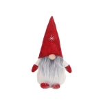 3 PCS Christmas Faceless Doll Ornaments Cartoon Children Dolls(Red Hat)