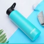 CUPSLION Stainless Steel Large-Capacity Vacuum Flask Outdoor Space Cup Vehicle-Mounted Water Cup(Blue)