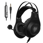 NUBWO N2D 3.5mm Wired Computer Gaming Headset, Cable Length:1.6m(Black)