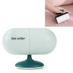 Capsule Tearable Cleaning Hair Removal Device Home Office Portable Hair Sticking Device, Specification: Sticking Device + 10 Roller(Green)