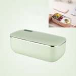 Water-Free Stainless Steel Heating Lunch Box CN Plug(Green)