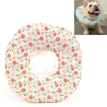 2 PCS Cat Anti-Lick And Anti-Bite Soft Ring Dog Collar Pet Supplies, Size:M(Small Cherry)