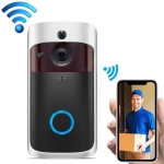V5 Standard Edition 720P Wireless WiFi Smart Video Doorbell, Support Motion Detection & Infrared Night Vision & Two-way Voice(Black Silver)