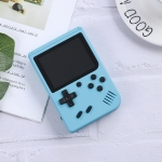 MK800 3.0 inch Macaron Mini Retro Classic Handheld Game Console for Kids Built-in 800 Games, Support AV Output (Blue)