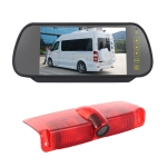 PZ478 Car Waterproof 170 Degree Brake Light View Camera + 7 inch Rearview Monitor for Chevrolet Express Van / CMC Savana Van