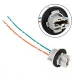2 PCS 7440B Bulb Holder Base Female Socket with Cable