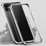 Shockproof Metal Protective Frame For iPhone 12 / 12 Pro(Silver)