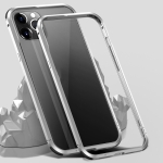 Shockproof Metal Protective Frame For iPhone 12 Pro Max(Silver)