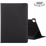 For Huawei Enjoy Tablet 2 10.1 inch Litchi Texture Rotating ClassicBusiness Horizontal Flip Leather Case with Holder(Black)