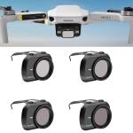 STARTRC 1108699 4 In 1 ND4PL + ND8PL + ND16PL + ND32PL Adjustable Lens Filter Set for DJI Mavic Mini 2