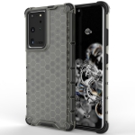For Samsung Galaxy S30 Ultra Shockproof Honeycomb PC + TPU Protective Case(Black)