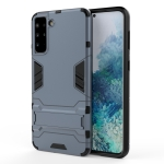 For Samsung Galaxy S30+ Shockproof PC + TPU Protective Case with Hidden Holder(Navy Blue)