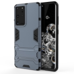 For Samsung Galaxy S30 Ultra Shockproof PC + TPU Protective Case with Hidden Holder(Navy Blue)
