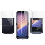 For Motorola Razr 5G IMAK Hydrogel Film III Full Coverage Screen + Back Cover Protector