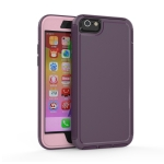 360 All-inclusive Shockproof Precise Hole PC + TPU Protective Case For iPhone 6s / 6(Purple)
