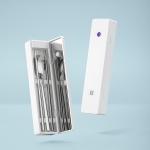 Xiaomi Youpin Huohou Self-sterilizing Portable Tableware Box Chopsticks Spoon Sterilization Box (White)