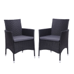 [US Warehouse] 2 PCS Living Room Furniture Single Backrest Chairs