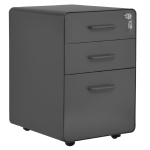[EU Warehouse] Portable Multifunctional Steel Cabinet with Lock, Size: 39x48x59cm