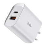 Benks PA41 20W PD USB-C / Type-C + USB Interface Travel Charger, US Plug