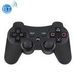 Line Button Wireless Bluetooth Gamepad Game Controller for PS3 (Black)