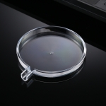 Transparent Round Plastic Protective Case for iPhone 12 Series Wireless Charger