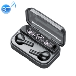 278 TWS External Noise Reduction Touch Bluetooth Earphone with Charging Box, Support LED Power Digital Display & Breathing Lights & Call & Voice Assistant (Black)