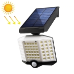 66 LEDs Home Lighting Courtyard Waterproof Rotatable Solar Body Induction Wall Light Street Light, Style: No Remote Control