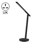 MOMAX QL6SUKD Bright Smart IOT Eye Protection Desk Lamp with Wireless Charging,UK Plug(Black)