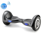 [EU Warehouse] 10 inch Balance Scooter 350W 4.0Ah Two-wheeled Scooter with Bluetooth & Remote Control & LED Turn Signal Lights & Car Bag, Max Speed :15km/h (Carbon Fiber Black)