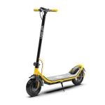 [US Warehouse] 500W Foldable IP64 Waterproof Magnesium Alloy Electric Scooter with 10 inch Tires & LED Display & LED Lights & 10AH Lithium Battery, Load Capacity: 100kg(Yellow)