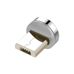 3A Micro USB Zinc Alloy Magnetic Charging Head