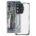 Glass Transparent Battery Back Cover for Samsung Galaxy S20 Ultra SM-G988 SM-G988U SM-G988U1 SM-G9880 SM-G988B/DS SM-G988N SM-G988B SM-G988W(Transparent)