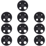 10 PCS Camera Lens Cover for Nokia C5 Endi (Black)