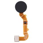 Fingerprint Sensor Flex Cable for Xiaomi Redmi 9 M2004J19G M2004J19C (Black)