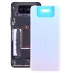 Glass Battery Back Cover for Asus Zenfone 7 ZS670KS(White)